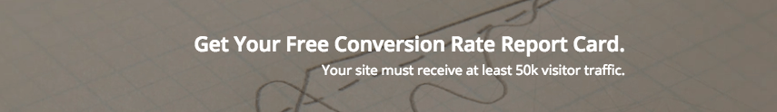 conversion rate optimization report card