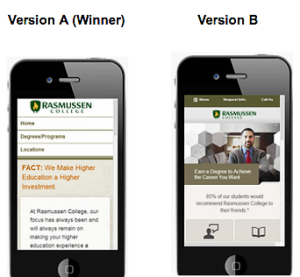 Mobile-friendly landing page increases leads by 256% - Condorly