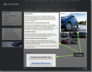 hyundai page-condorly-conversion-rate-optimization